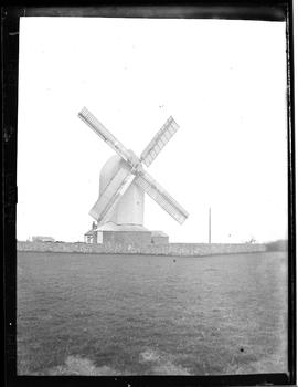 Post mill, Friston, East Sussex, in working order