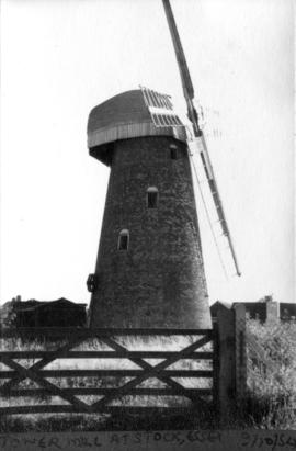 Outside view of Tower Mill at Stock, Essx