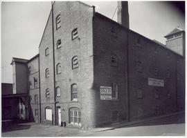 Notice of the sale of Abbey Mill, Reading