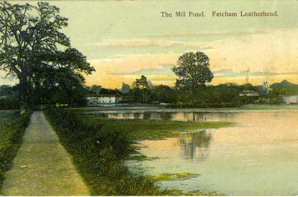 The Mill Pond  Fetcham Leatherhead  - Images &