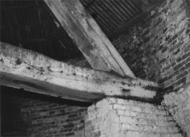 Interior showing crosstree and quarter bar, Harebeating Mill, Hailsham