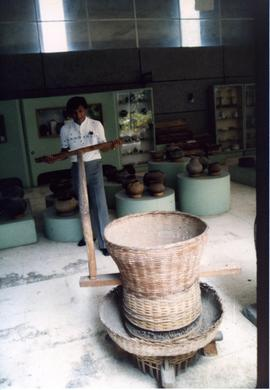Photograph of a Philippine rice mill