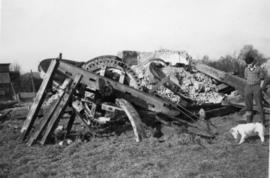 Wycombe Heath Mill, Holmer Green, collapsed and in pieces