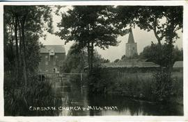 Earsham Church & Mill
