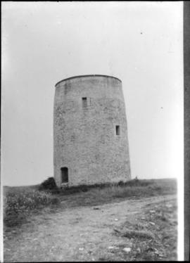 Exterior view of tower only, Easton Mill