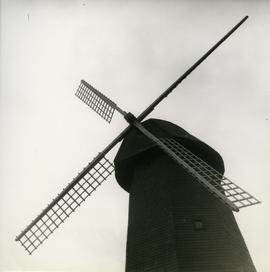 Cap and sails of Lepaa mamsel mill in Tyrväntö, Häme