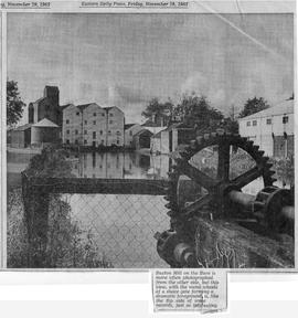"""Buxton Mill on the River Bure …"""