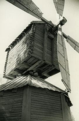 Sails and collar of Ilmajoki Parish Museum Mill in South Bothnia