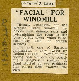 """ 'Facial' for Windmill"""