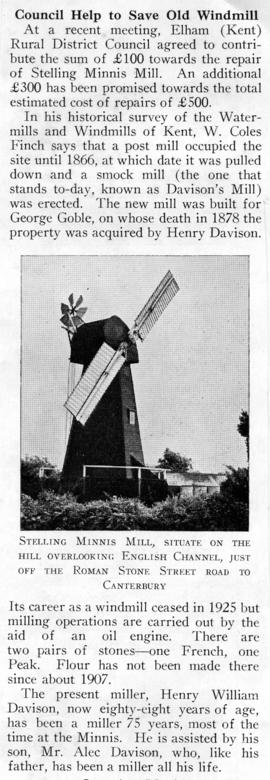 Council help to save old windmill