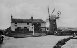 Stow Mill, Paston, and house