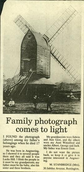 """Family photograph comes to light"""
