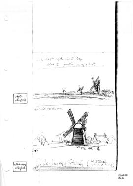 Stokesby drainage mill, Norfolk. Bk 12, no 20.