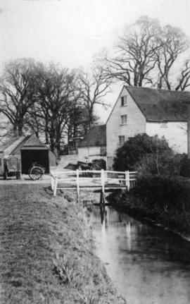 View from downstream, Wood's Mill, Small Dole