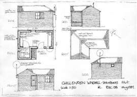 Volunteers' Hut - plans and elevations