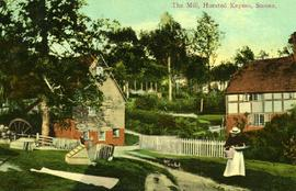 Watermill, Horsted Keynes, and house