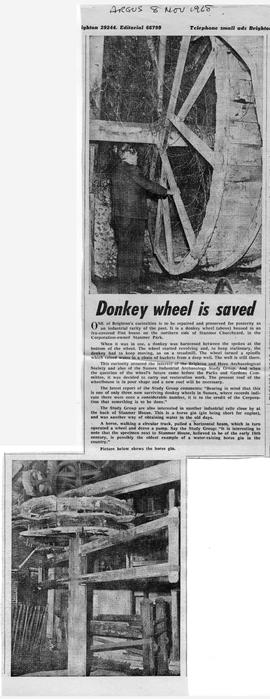 """Donkey mill is saved"""