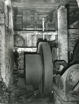 Waterwheel machinery, watermill, Kersey