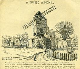 """A ruined windmill"""