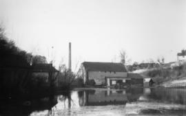 View from river, Lower Tovil Mill, Maidstone