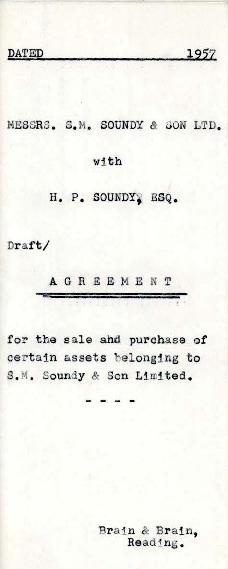 Agreement for sale of assets