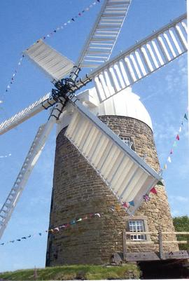 Heage Tower windmill on opening day