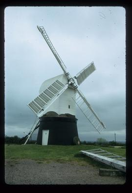Post mill, Wrawby, restored