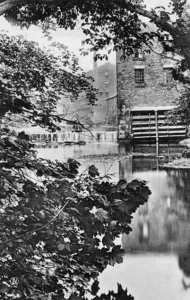 View from downstream, watermill, Congleton