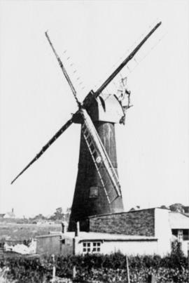 Thanet Mill, Northwood, Ramsgate, preserved with shutters removed from sweeps