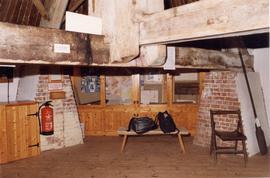 Ground floor of roundhouse, looking east, Stocks Mill, Wittersham