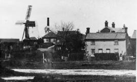 Kelsale Mills, Kelsale cum Carlton, with houses