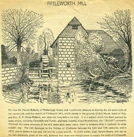 """Fittleworth Mill"""