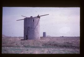 Pair of tower mills