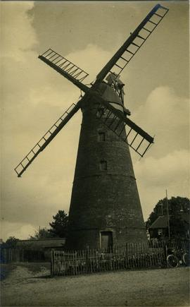 Stansted Windmill, Stansted Mountfitchet, in working order
