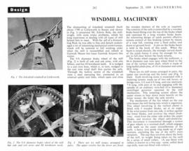 Article, Windmill Engineering