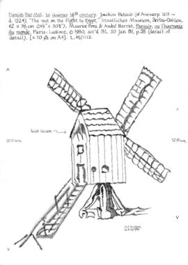 Flemish post mill