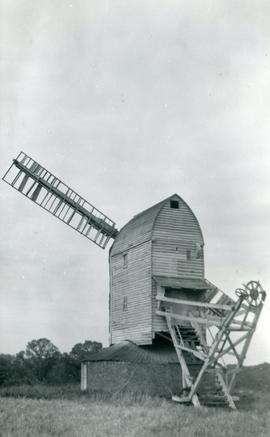 Elmer's Mill, Woolpit, with missing fantail
