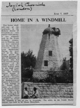 """Home in a Windmill"""