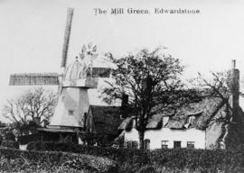 Mill Green Mill, Edwardstone, with cottage