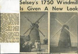 """Selsey's 1750 windmill is given a new look"""