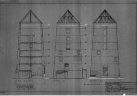 Broad Eye Windmill: Elevations as existing