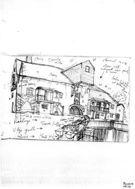 Unnamed watermill in Herts?. Bk 19, no 29