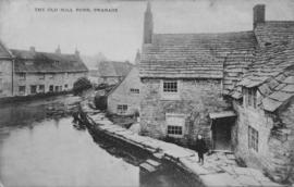 Mill pond, Old Mill, Swanage