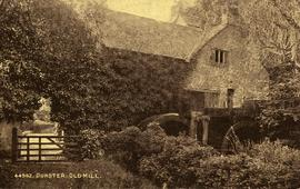 Dunster, Old Mill