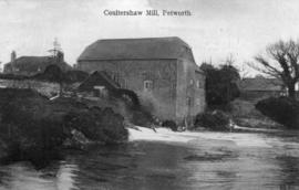 Watermill, Coultershaw, with waterwheel