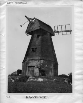 Old Mill, Hawkinge, with no sweeps and body deteriorating