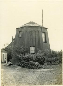 Base of two-storey Smock Mill