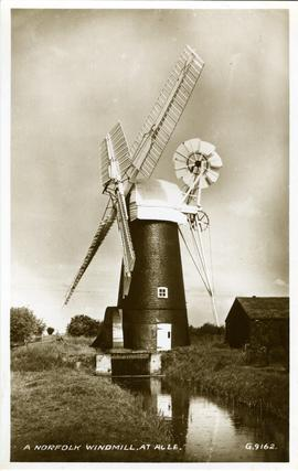 A Norfolk Windmill at Acle