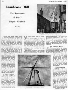 The Restoration of Kent's Largest Windmill (1 of 2)