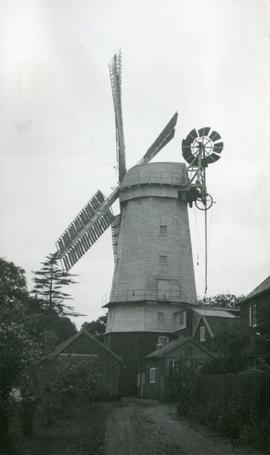 North Mill, Wymondham, with buildings